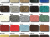 Epoxy Coated Floors Solid Color Chart