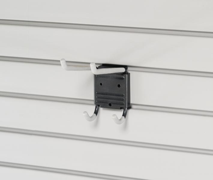 Slat Wall Double Utility Hook