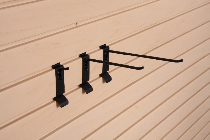 Slat Wall Snap Hooks 6 inch