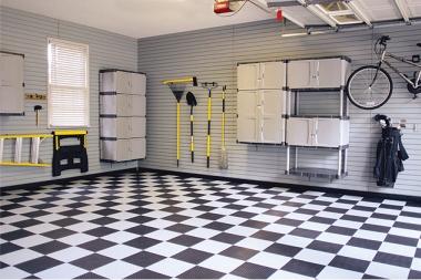 Slatwall Organization Garage Excell