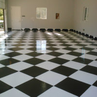 Racing Floors epoxy san diego