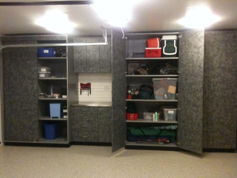 Modular Garage Cabinets And Garage Organization Systems