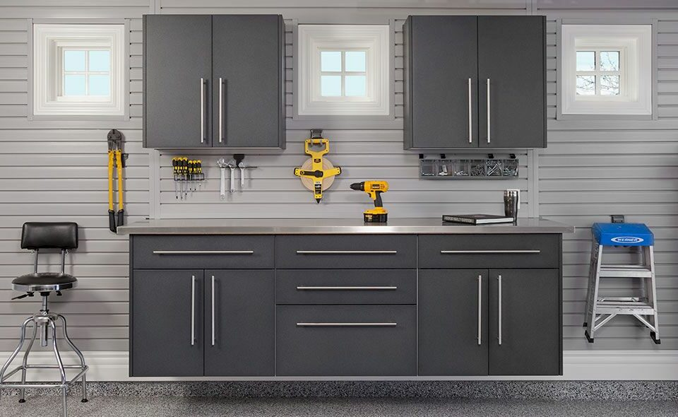 Modular Garage Cabinets And Organization Systems