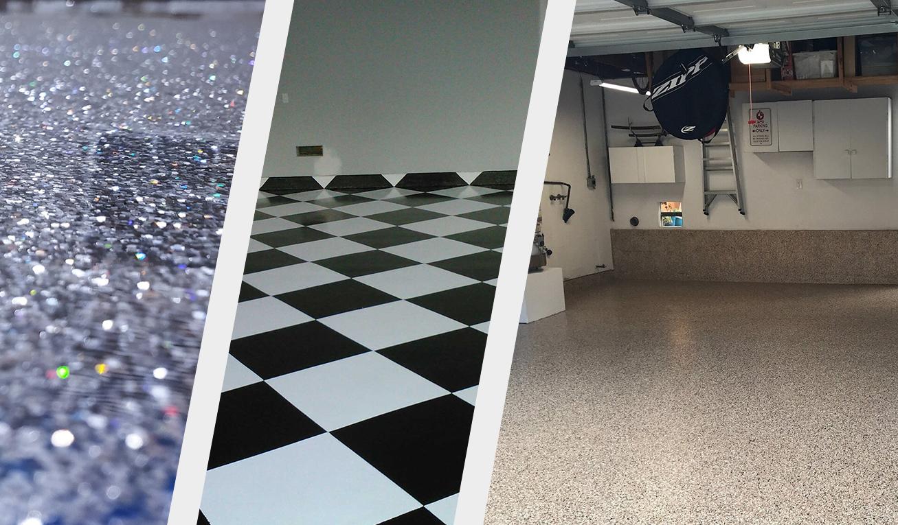 garage epoxy flooring organization systems