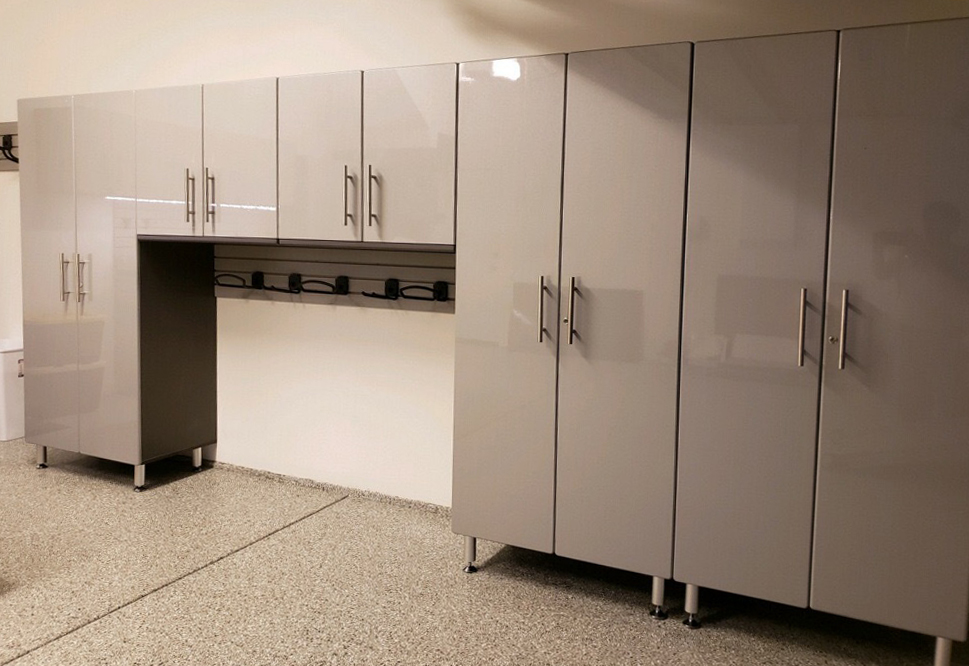 garage organization systems cabinets and wall
